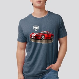 Viper Red/White Car T-Shirt